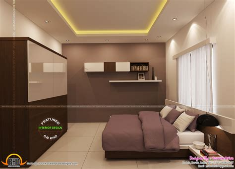 Interior Design In Kerala Homes Bedroom Interior Designs Kerala Home Design And Floor Plans