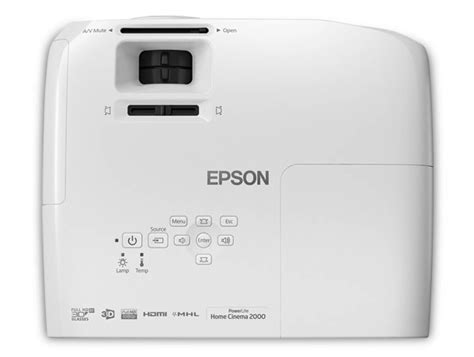 Epson Home Cinema 2000 by Epson Powerlite Home Cinema 2000 3lcd Projector