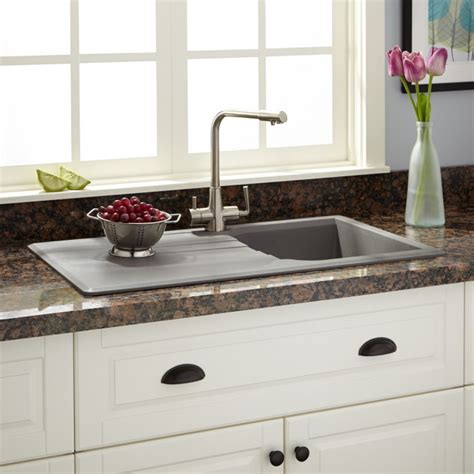 types of kitchen sinks types of drop in kitchen sinks