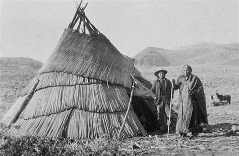 paiute owens valley native americans of the great basin paiute indians images of their shelter paiute