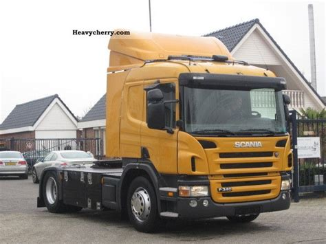 scania p340 2006 standard tractor trailer unit photo and specs