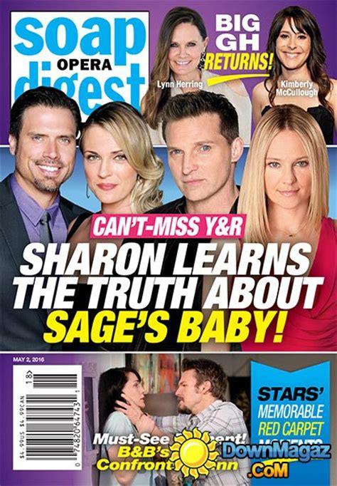 soap star hairstyles magazine soap opera hairstyle magazine soap opera digest may 29