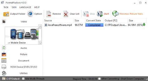 format factory per mac gratis comprimere video 5 programmi gratis per windows