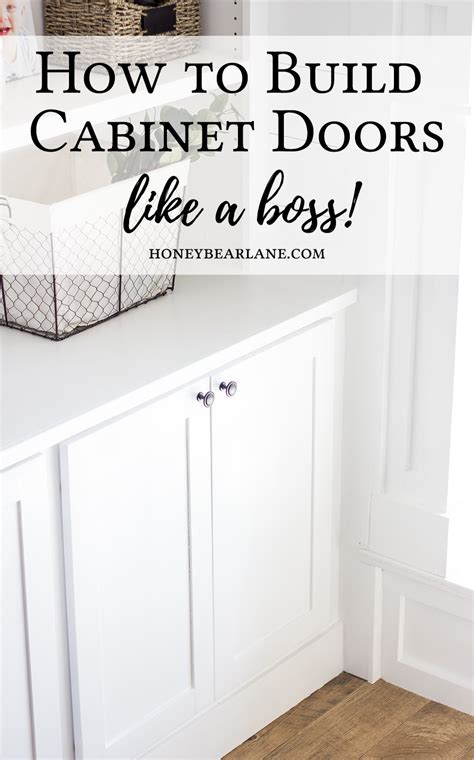 How To Build Cabinet Door Build Doors Build Your Own Doors