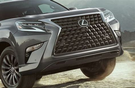 lexus gx  grille safety features