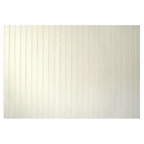 White Wainscoting Home Depot 3 16 in x 48 in x 32 in pinetex white wainscot panel hd16332481 the home depot