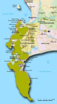 africa map cape of map of cape town suburbs cape town map south africa