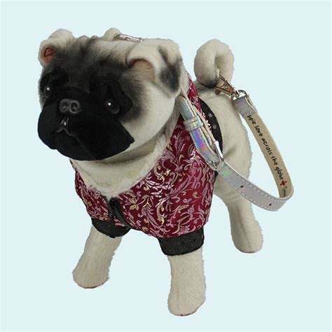 fuzzy nation pug pug in formal teapup