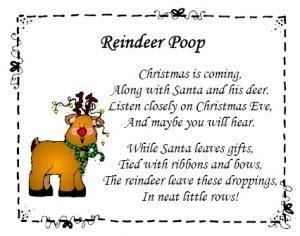 printable reindeer poop tags reindeer poop christmas neighbor gifts pinterest