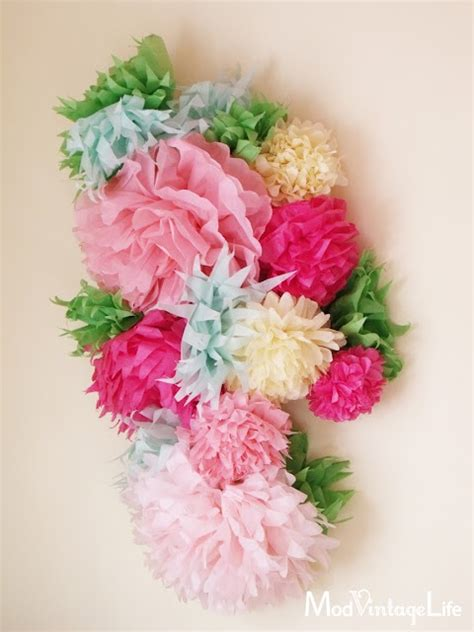 Decorating With Tissue Paper Flowers by 38 Best Images About Baby On