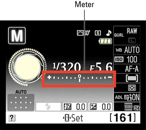 how to read a light meter how to read and adjust the exposure meter on a nikon d3100