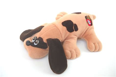 pound puppies toys 1980s pound puppy with brown spots by tonka toys for and ones