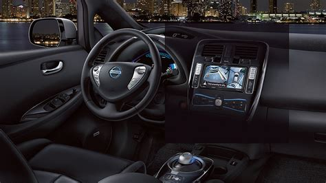 nissan leaf 2016 interior 2016 nissan leaf colours photos nissan canada