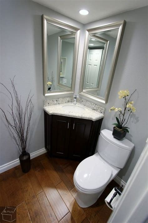 Corner Bathroom Sink Ideas Best 25 Corner Sink Bathroom Ideas On Pinterest Corner Bathroom Vanity Bathroom Corner