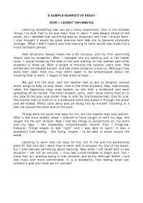 Example essay about yourself   Exam paper answers