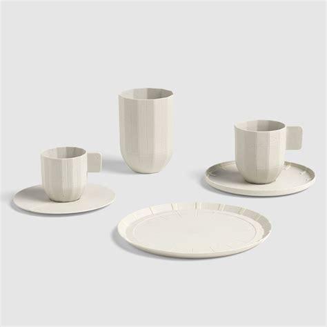 hay design mug paper porcelain mug porcelain light grey by hay
