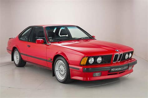Bmw 635csi For Sale by 1989 Bmw 635csi For Sale 2030218 Hemmings Motor News