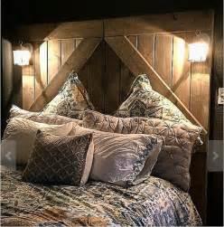 rustic barndoor headboard divider doors home rusic decor