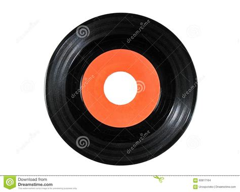 oldest on record vinyl record on white background stock photo image 60817164