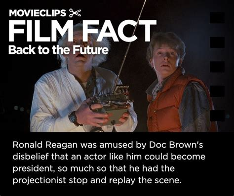film quotes back to the future back to the future reagan movie quotes quotesgram