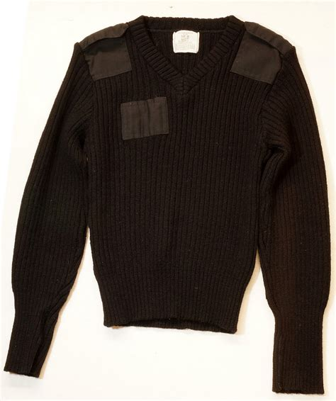 Sweater Loreng Gurun Sweater Army sold 1980 s us army commando wool combat v neck sweater ribbed with