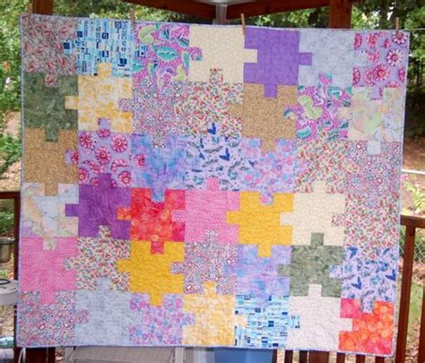 Jigsaw Quilt Pattern by Some Of Quilts Jigsaw Quilt