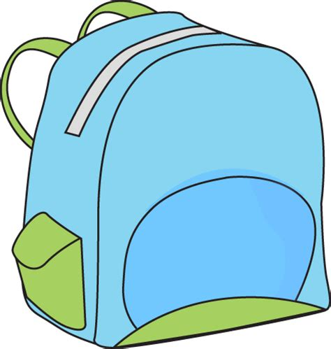 Back Pack Clipart school backpack clip school backpack vector image