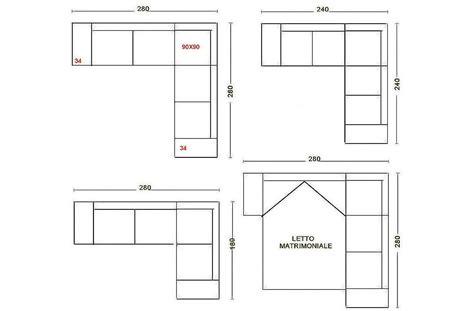 dimensioni divano angolare divano angolare misure minime idee per la casa