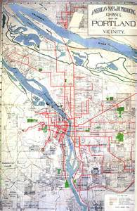 Portland Tram Map by Portland Oregon Streetcar Newhairstylesformen2014 Com