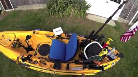 hobie kayak seat modifications hobie outback seat modification