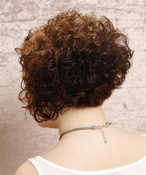 pictures of the back of curly stacked hair short curly hairstyles back view google search short