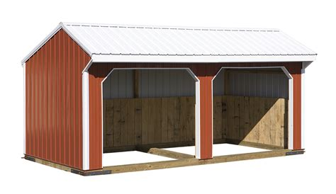 double run  shed jn structures