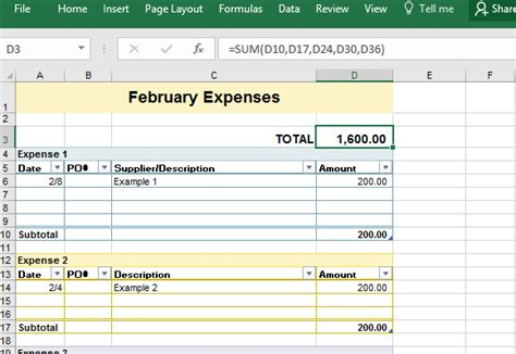 expense template in excel sle business expense sheet for excel