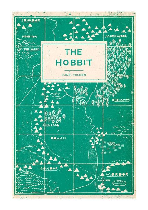 the odyssey penguin clothbound 0141192445 the hobbit book cover reimagining by adam busby print