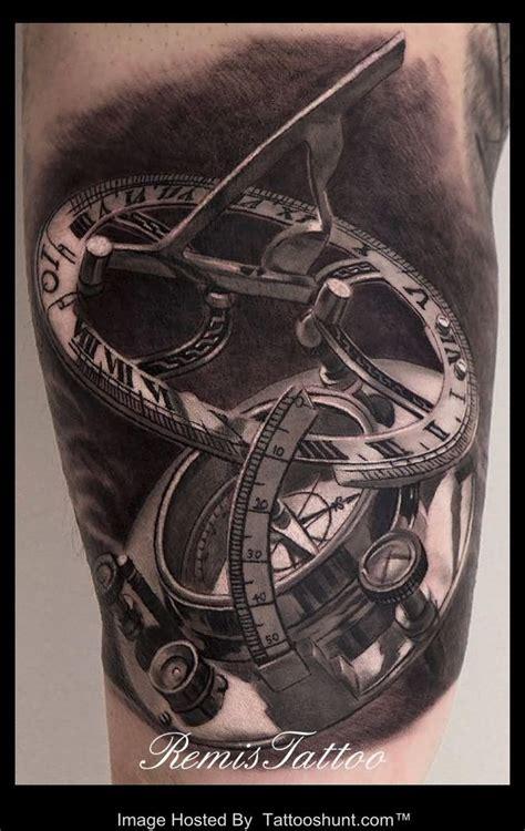 tattoo 3d watch compass watch tattoo design photo 2 kiwi ink