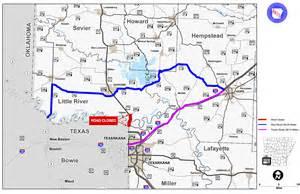 an arkansas highway and transportation department map