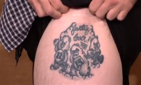 fantasy football tattoo league the football league makes sure that the