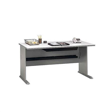 bush business a series u shape desk in white spectrum and