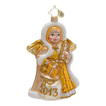 2013 dated christmas ornaments radko ornaments 2013 dated ornament heavenly memory