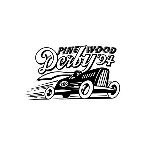 graphis logo design 9 pinewood derby logo graphis