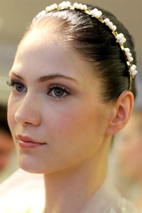 Makeup La oscar de la renta bridal 2013 photo by scroggins makeup by garcia for