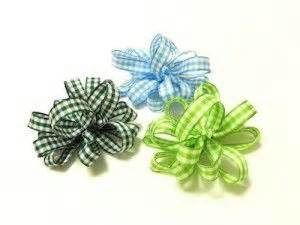 how to make bows for yorkies bow tutorial how to make loopy gingham bows diy bows
