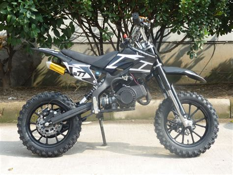 black motocross bike mini moto 50cc dirt bike scrambler motocross bike