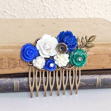 Wedding Hair Accessories Navy by Best Bridesmaid Hair Accessories Navy Blue Products On Wanelo