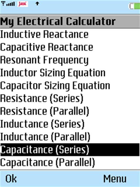 inductance calculator parallel symbian education my electrical calculator for symbian