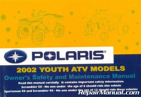 polaris youth atv models owners safety
