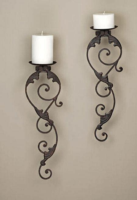 Candle Sconces Wall Decor by Candle Sconces Wall Decor