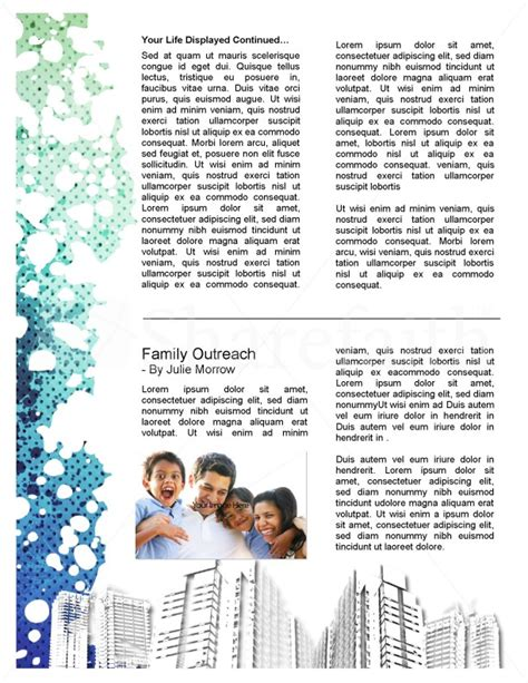 community newsletter template community church newsletter template template newsletter