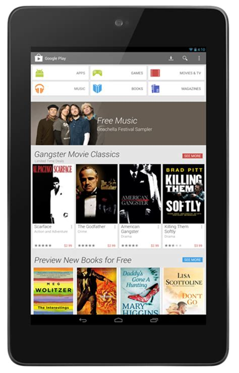 play apk for tablet play store 4 0 25 apk app with completely new ui and features redmond pie