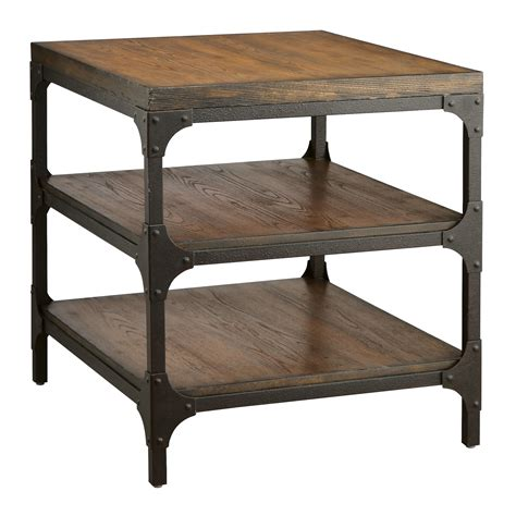 market end table stein market square rectangular end table at hayneedle